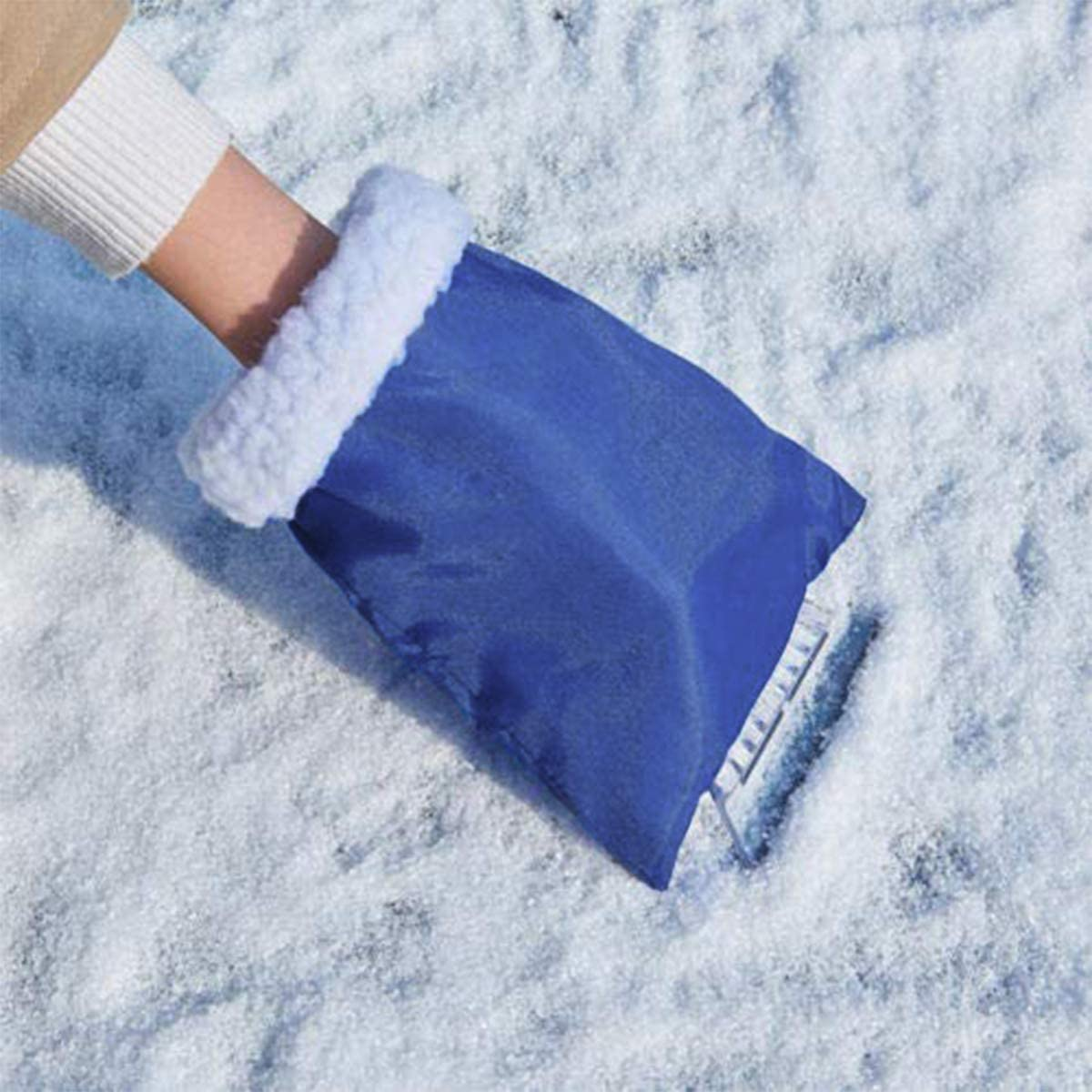Snow Shovel Antifreeze Glove Cleaning Tool for Truck SUV Windshield and Window TYPHEERX Ice Scraper Mitten