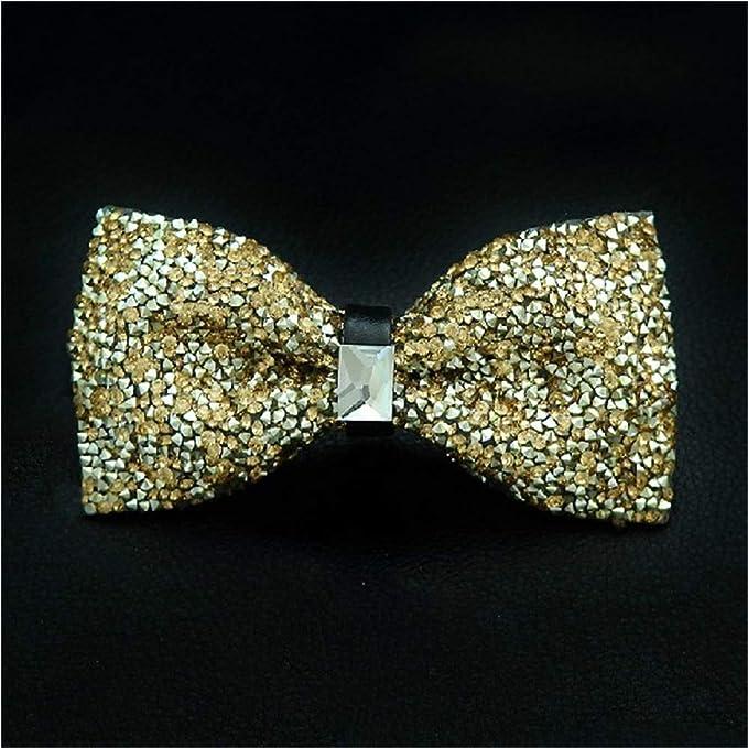 0749fa4097c93 Weentop Noeud Papillon en Cristal Brillant Brillant avec nœud Papillon pour  fête de Mariage (Couleur : Or): Amazon.fr: Cuisine & Maison