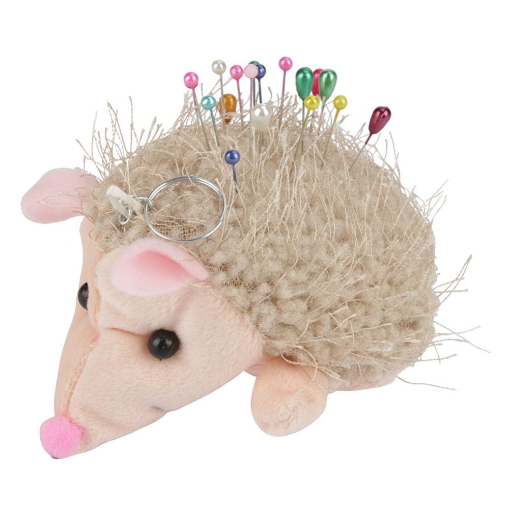 Hedgehog Shape Soft Fabric Pin Cushion Pin Quilting Holder DIY Sewing Craft Tool Walfront