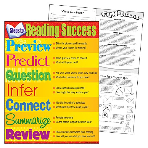 Trend Enterprises Steps to Reading Successlearning Chart (T-38286) Photo #2