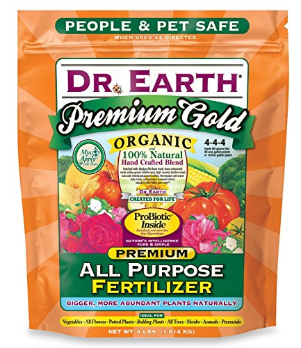 Dr. Earth Premium Gold All Purpose Fertilizer 4 lb