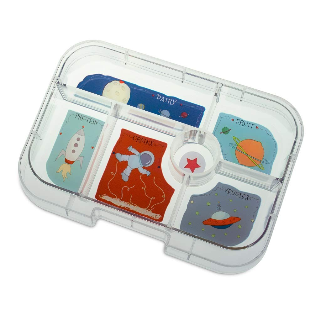 YUMBOX Original (mit 6 Fächern) - Brotbox Brotdose Lunchbox Bento Bento Bento Box mit Fester Fächer-Unterteilung - auslaufsichere Brotdose für Schule - ideal zur Einschulung (Luna Blau (ohne Namen)) B07K1M2G5N   Deutschland Shops  bbf707