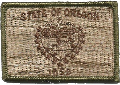 Tactical State Patch - Oregon - Multitan