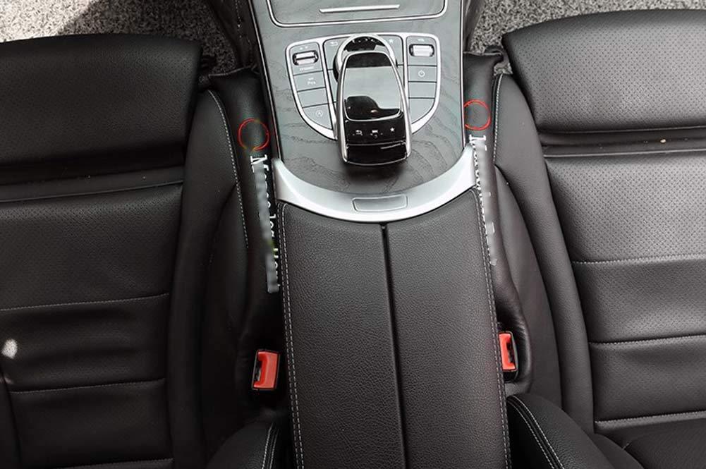 Xinshuo Seat Gap Tampon de Remplissage Garniture de fente pour si/ège de voiture en cuir PU pour Classe A Classe B Classe C Classe E Classe ML Classe SLK Classe Gla Classe V 2 pi/èces