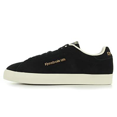 4fcde76628dd Reebok NPC FVS Shoes Black White Sandtrap UK 10  Amazon.co.uk  Shoes ...