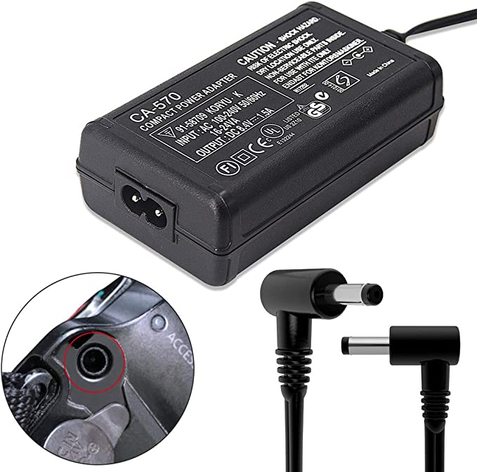 SO COOL AC Adapter for Canon Vixia HF11 32GB Camcorder Power Supply Cord Charger PSU