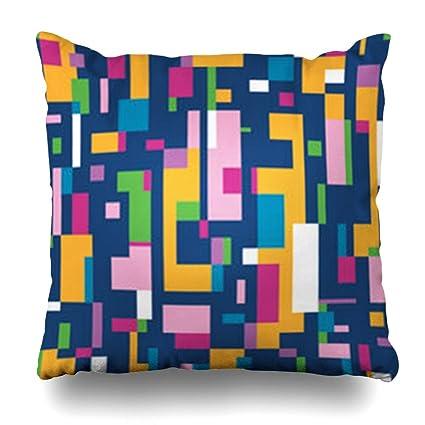 Amazon.com: Homeyard Throw Pillow Cover Minimalist Green ...