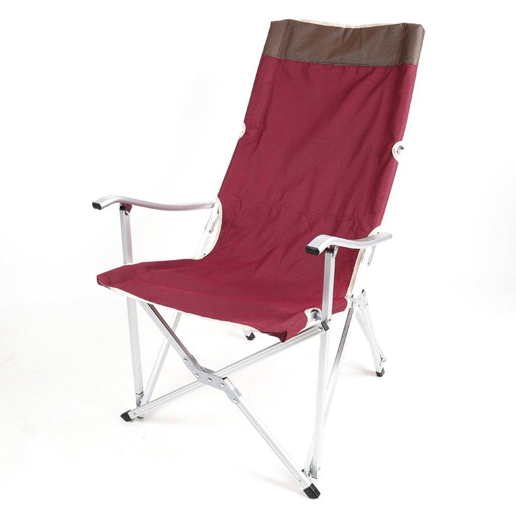 Homelx Outdoor Camping Klappstuhl Leichte Durable Outdoor Sitz Freizeit Skekt Angeln Stuhl Aluminiumlegierung Sessel