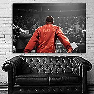 Poster mural kanye west madison square garden 24x35 inch 61x90 cm on canvas home for Madison square garden kanye west