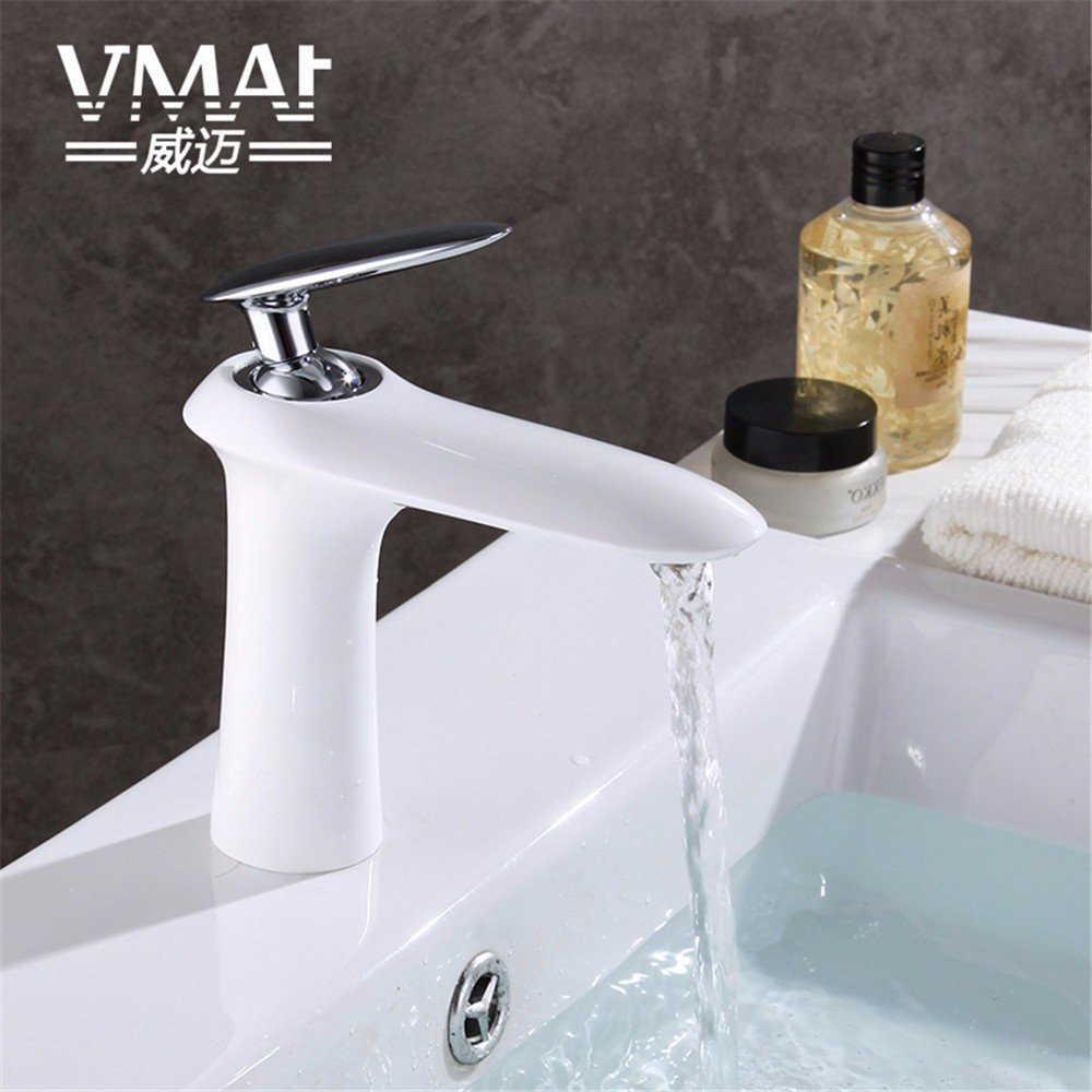 Bijjaladeva Antique Bathroom Sink Vessel Faucet Basin Mixer Tap Basin mixer hot and cold single hole bathroom sink console keyboard taps full copper and high white