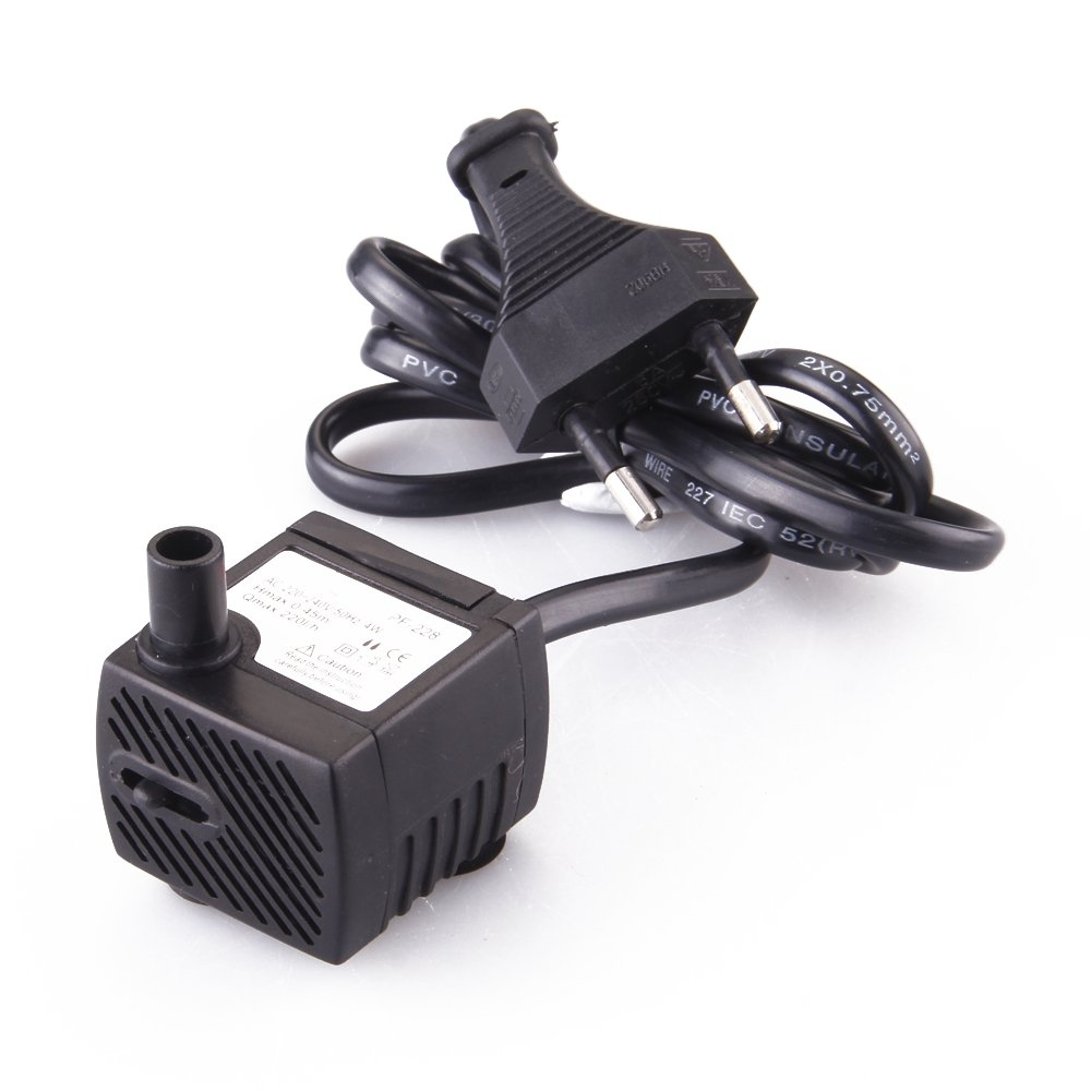 Bomba Agua Aire Oxigenador Compresor 4W para Pecera Acuario fitTek