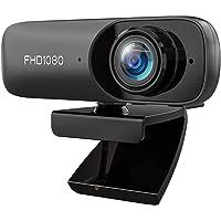 Gahwa Webkamera med mikrofon 1080P HD streaming webbkamera för PC/MAC/laptop/Plug and Play Web kamera för Youtube…