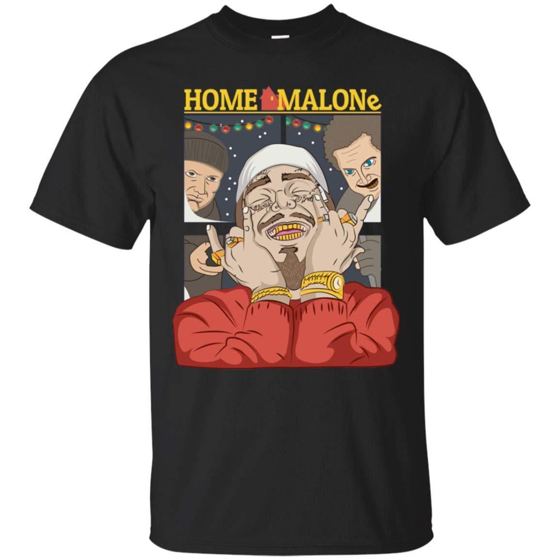 Teepowers Home Malone Funny Home Alone Christmas Movie Unisex Tshirt