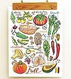 Fall Garden Print.
