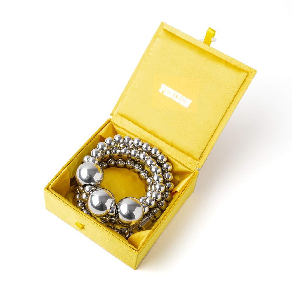 penixon Acala Full Stainless Steel Self Defence Buddha Bracelet
