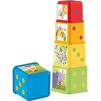 Fisher-Price Bloques apila y descubre, juguete bebé (Mattel