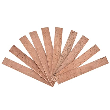 Clarinete Cork - Clarinete Cuello Conjunto Corcho Hoja Reparación de instrumentos Accesorios 10pcs/set