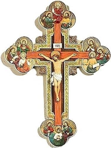 Beautiful 13 Apostles Wall Crucifix