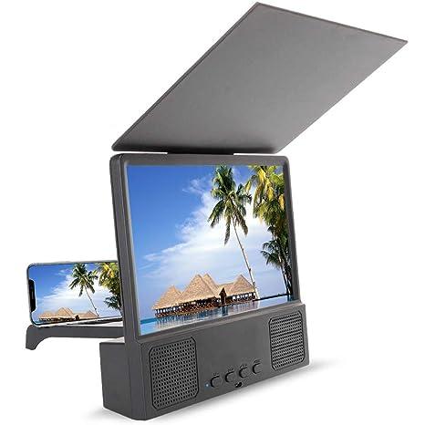 CRYPIN Altavoz Bluetooth 3D HD Pantalla Teléfono Móvil ...