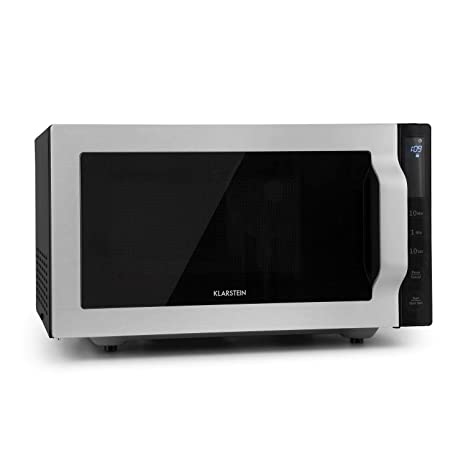 Klarstein Brilliance roomy microondas con grill • Argent Roomy ...