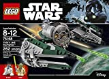 LEGO Star Wars Yodas Jedi Starfighter 75168 Building Kit (262 Pieces)