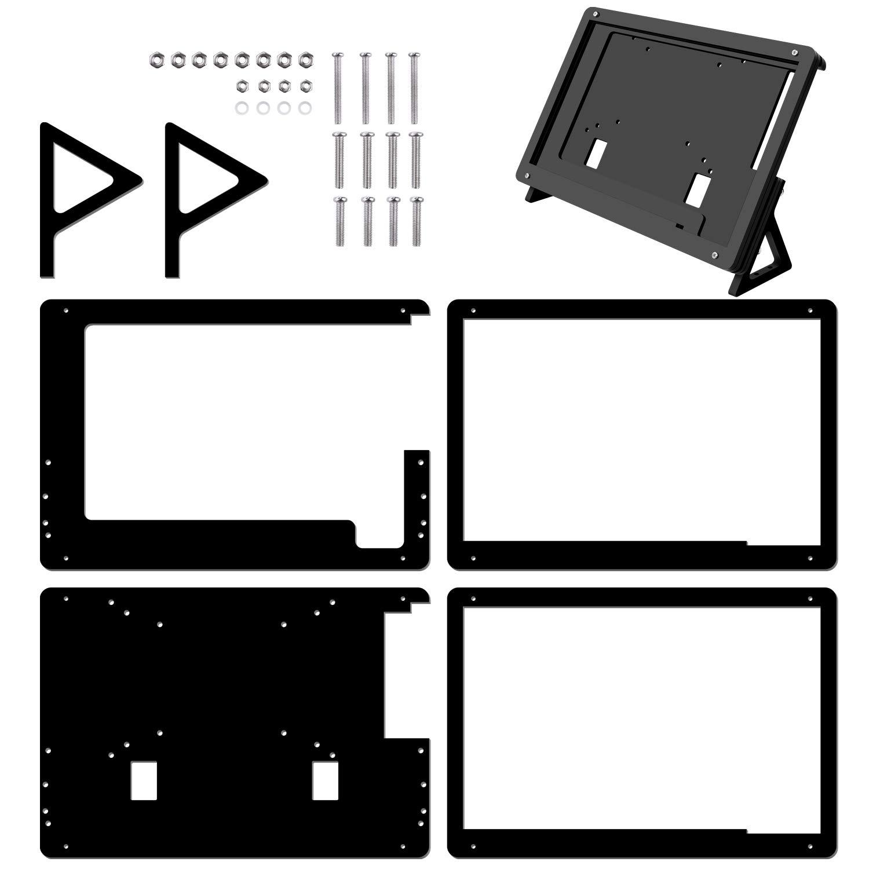 Kuman 7 inch Raspberry Pi Touch Screen Case Holder by kuman (Image #1)