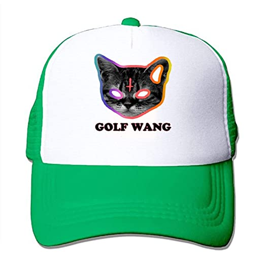 3a4d518b69620f Amazon.com  Golf Wang - Cat - Odd Future Mesh Back Trucker Cap Low ...