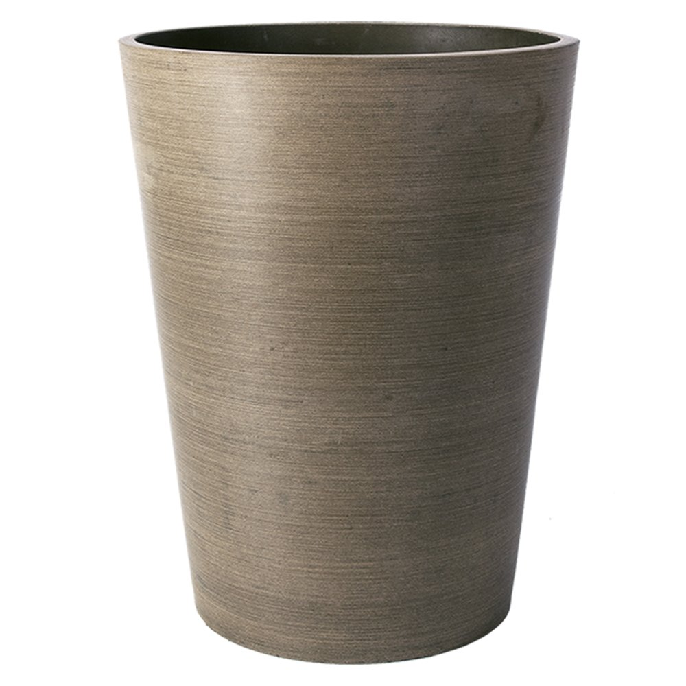 Algreen Valencia Planter, 8 by 10.7 , Textured Taupe