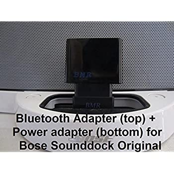 21f0e014791 BMR A2DP Bluetooth Music Receiver + Power Adapter for Bose SoundDock I,  Portable & Wave
