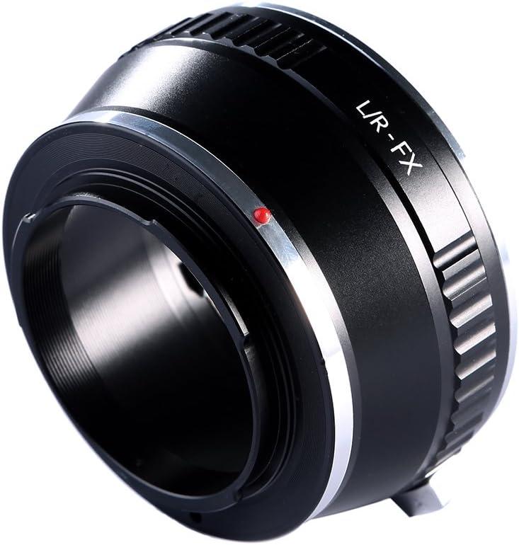 K/&F Concept/® L//R-FX Objektiv Adapterring Adapter Fuji FX Objektivadapter f/ür Leica R Mount Objektive auf Fujifilm X-Mount Bajonett Systemkamera Fuji Finepix X-T1,X-E2,X-E1,X-A1,X-M1,X-Pro1