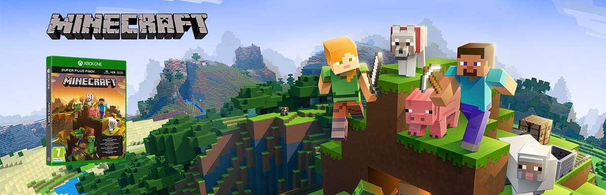 Microsoft Minecraft Super Plus Pack, Xbox One Básico Xbox One ...