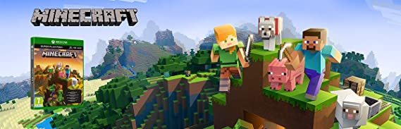 Microsoft Minecraft Super Plus Pack, Xbox One Básico Xbox One Plurilingüe vídeo - Juego (Xbox One, Xbox One, Modo multijugador, E10 + (Everyone 10 +)): Amazon.es: Videojuegos