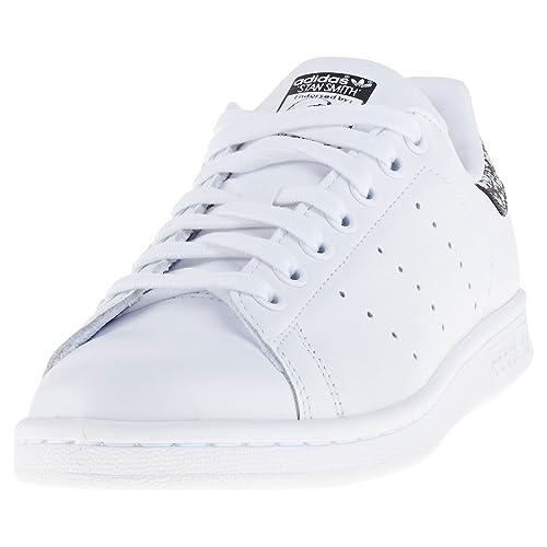 new product bcdb8 1628b adidas Stan Smith W Calzado white black  Amazon.es  Zapatos y complementos
