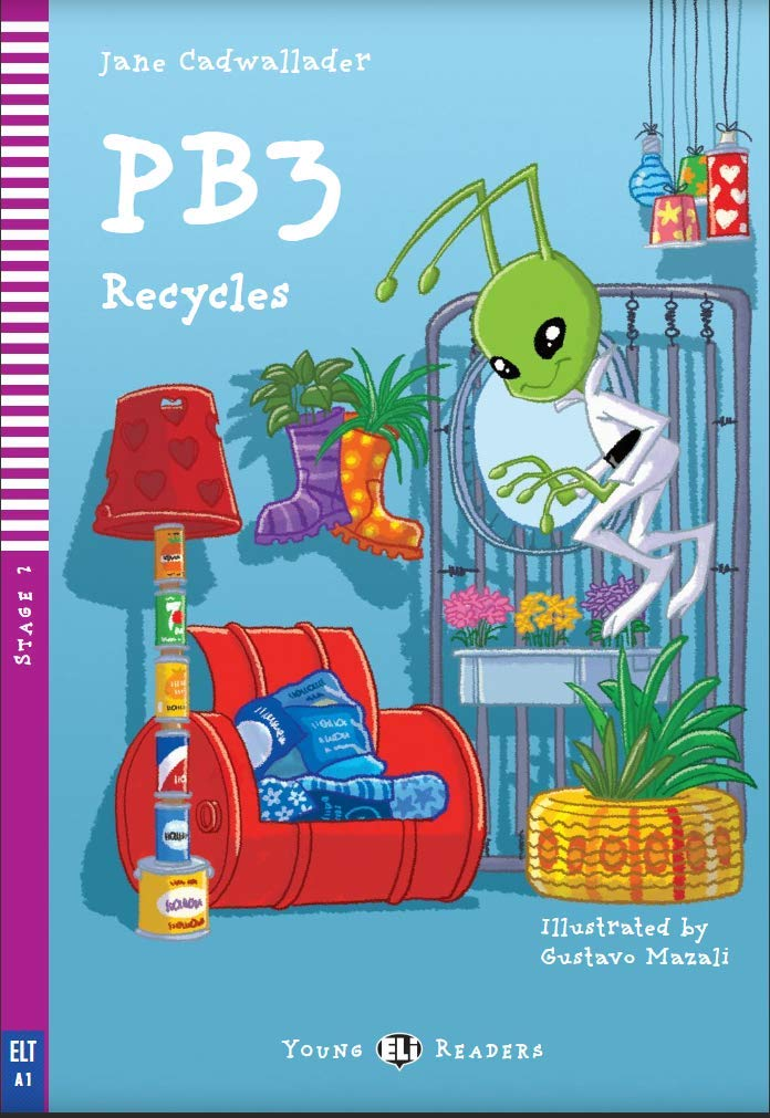 PB3 recycles. Con espansione online Young readers : PB3 Recycles + downloadable audio: Amazon.es: CADWALLADER, JANE, MAZALI, GUSTAVO: Libros en idiomas extranjeros
