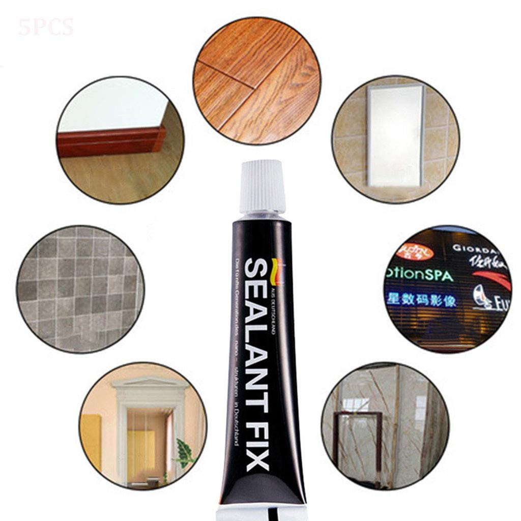 YJYdada Hot Selling Glass Glue Polymer Metal Adhesive,Sealant Fix  Waterproof Quick Drying Universal Glue,Strongest Super Glue for Plastic  Rubber