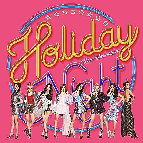 SNSD GIRLS' GENERATION - Holiday Night (Vol 4) CD+Photobook+Poster+Free Gift