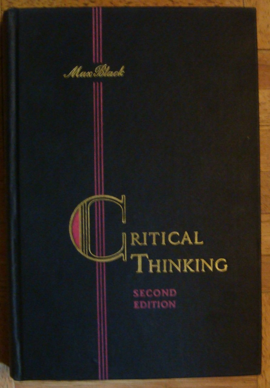 the need for critical thinking and the scientific method