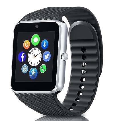 Amazon.com: DZ09 reloj inteligente tarjeta Bluetooth de ...