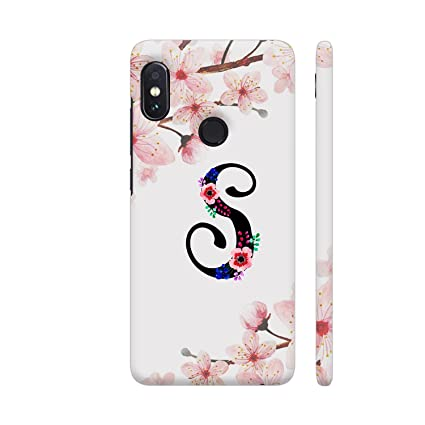cdd2a325e9 Image Unavailable. Image not available for. Colour: Colorpur Letter S  Watercolor Printed Back Case Cover For Redmi Note 5 Pro