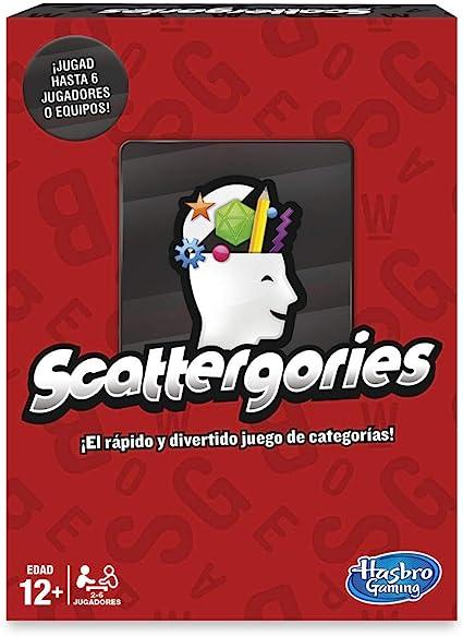 Hasbro Gaming- Hasbro Scattergories (Versión Española) (C1941105): Amazon.es: Juguetes y juegos