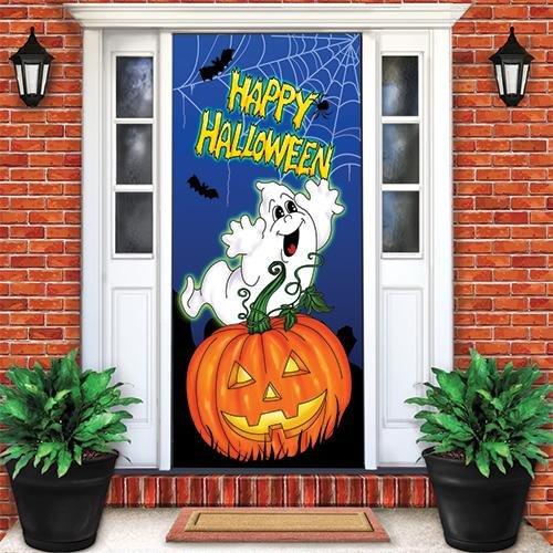 Happy Halloween Holiday Door Cover