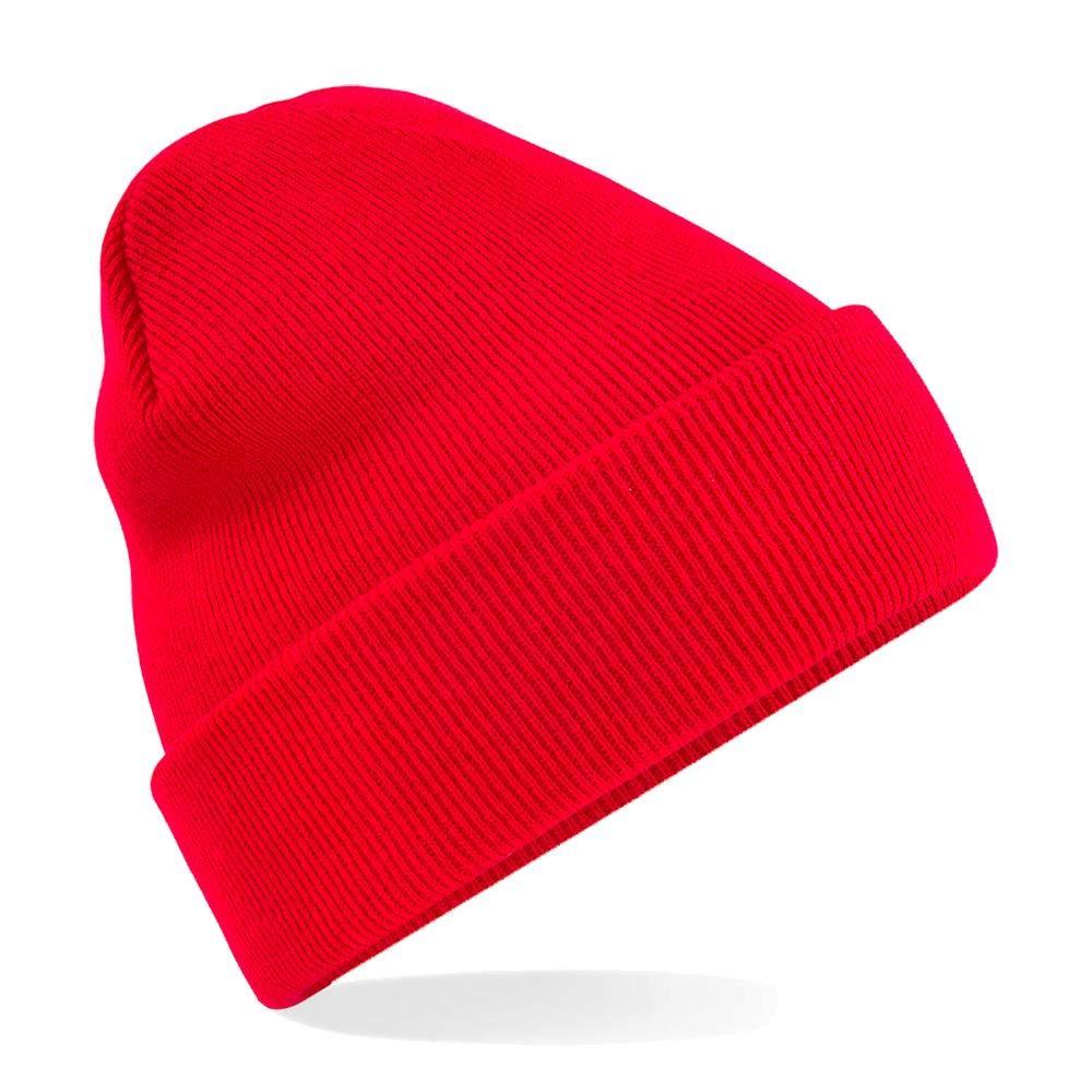 Winter Strickm/ütze Einheitsgr/ö/ße,Classic Red Beechfield