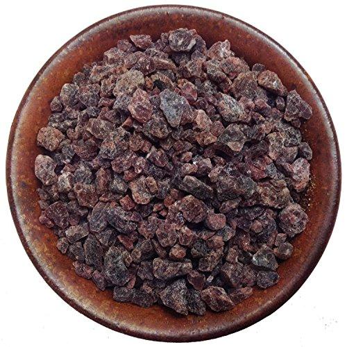 Pride Of India - Himalayan Black Crystal Salt - Coarse Grind, 8oz (Half Pound) - Kala Namak - Contains 84+ Minerals - Perfect for Cooking, Tofu Scrambles, Grinder Use, Kitchen & Restaurant & Bath Salt