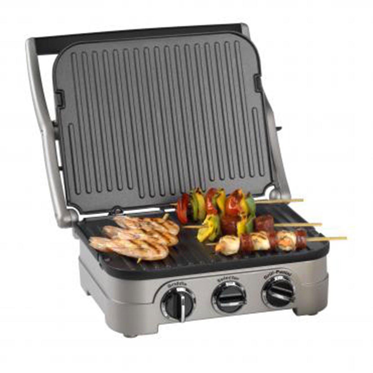 Cuisinart Multifunktions-Grill mit Kochplatte GR4CU