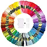 120 Embroidery Floss Kit Including 100 Skeins