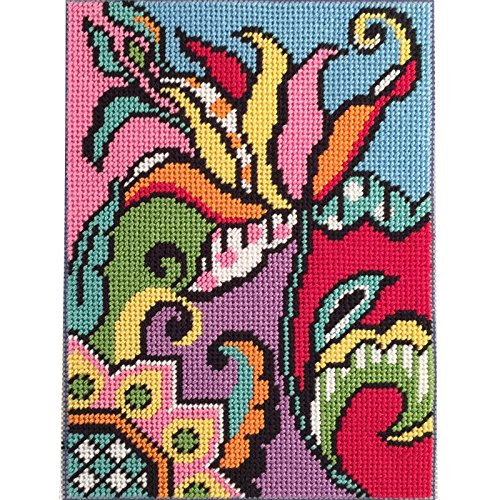 (Canoodles- Tulip Abstract- Needlepoint Kit)