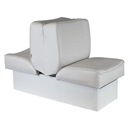 Peachy Boat Lounge Seat White Uv Treated Premium Back To Back Creativecarmelina Interior Chair Design Creativecarmelinacom