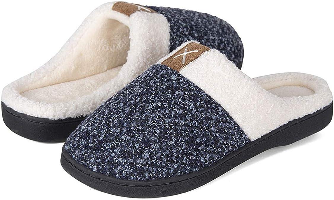 Zapatillas de Estar en casa Hombre Plantilla Memory Pedir una Talla m/ás