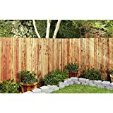 Mendocino Forest Products 11/16 in. x 3 1/2 in. x 6 ft. Construction Common Redwood Dog Ear Fence Picket (5-PK)