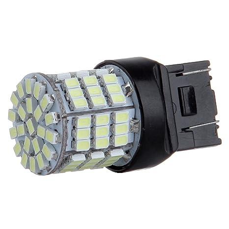 cciyu Pack of 6pcs White 7443 High Power Epistar 85SMD 3020 LED Light Bulbs T20 7440 7444 7441 Reverse Brake Tail Turn Light